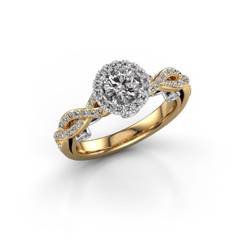 Verlobungsring Madeleine 585 Gold Lab-grown Diamant 0.972 crt