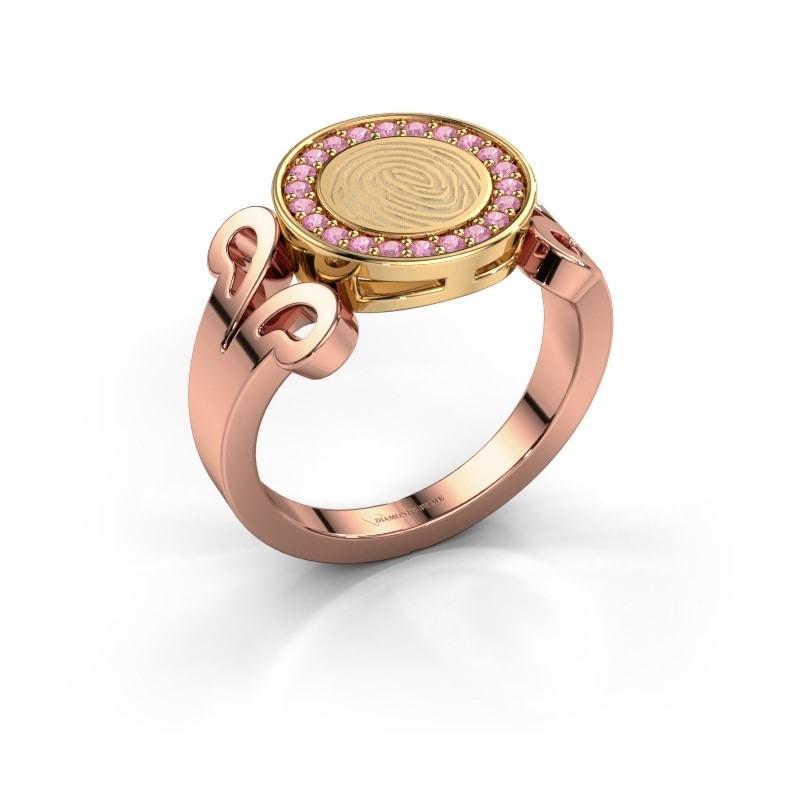Ring Doret 585 rose gold