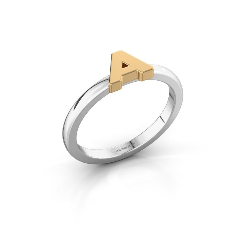 Ring Initial ring 020 585 white gold