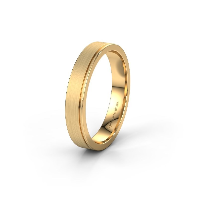 Wedding ring WH0500M14AM 585 gold ±4x1.7 mm