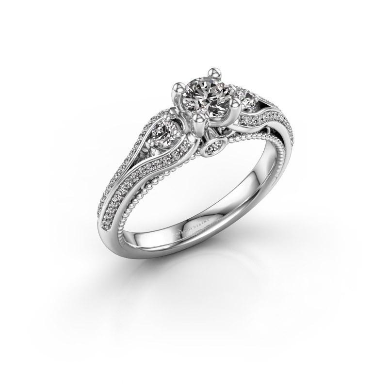 Verlovingsring Nikita 950 platina diamant 0.620 crt