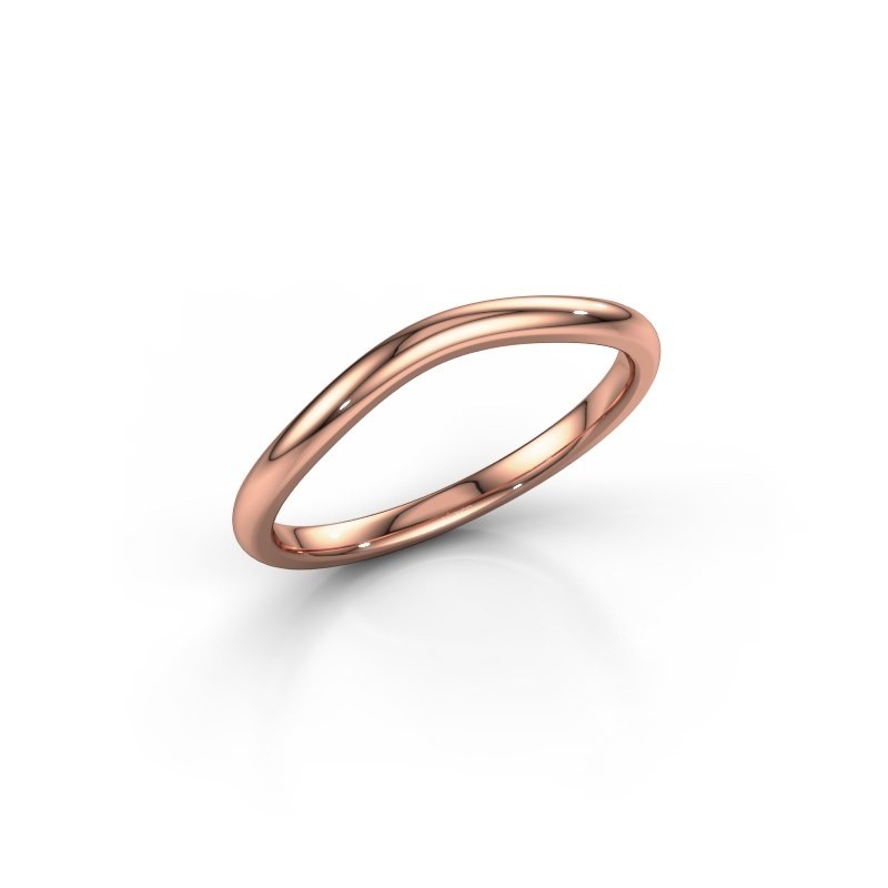 Stackable ring SR30A6 375 rose gold