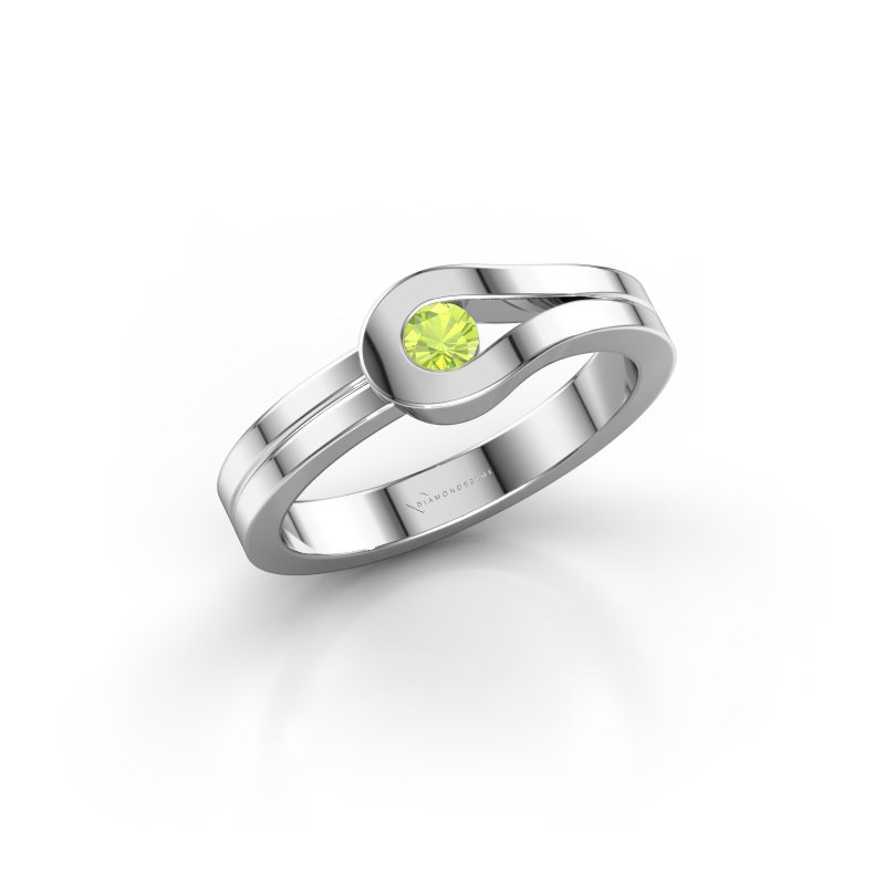 Ring Kiki 925 Silber Peridot 3 mm