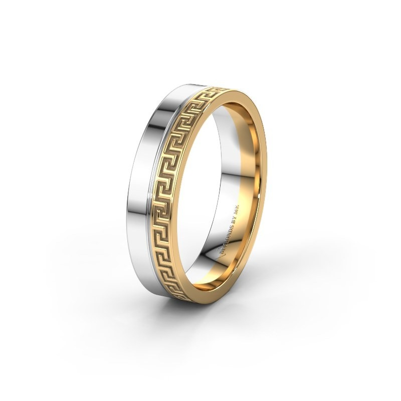 Wedding ring WH0252M24X 585 gold ±0.20x0.06 in