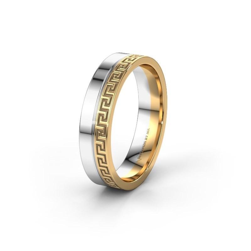 Wedding ring WH0252M24X 585 gold ±5x1.5 mm