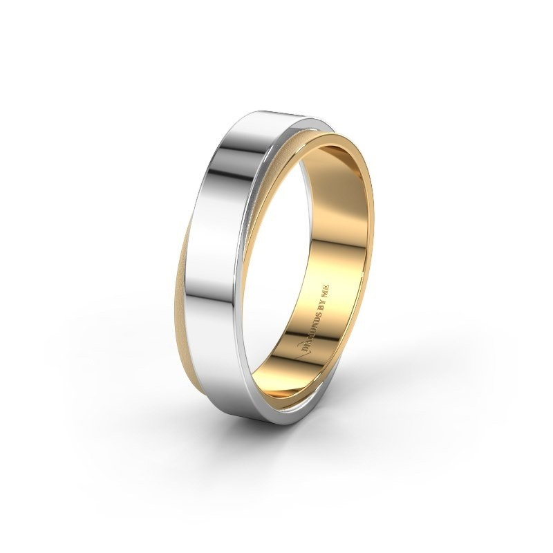 Wedding ring WH6012MX6A 585 gold ±0.24x0.07 in
