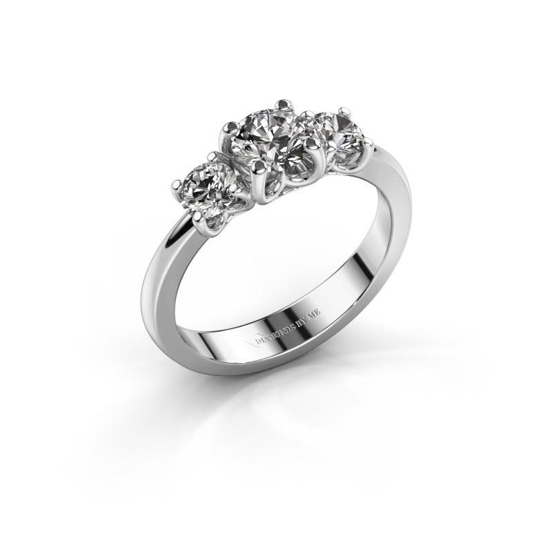 Verlobungsring Detra 925 Silber Lab-grown Diamant 1.00 crt