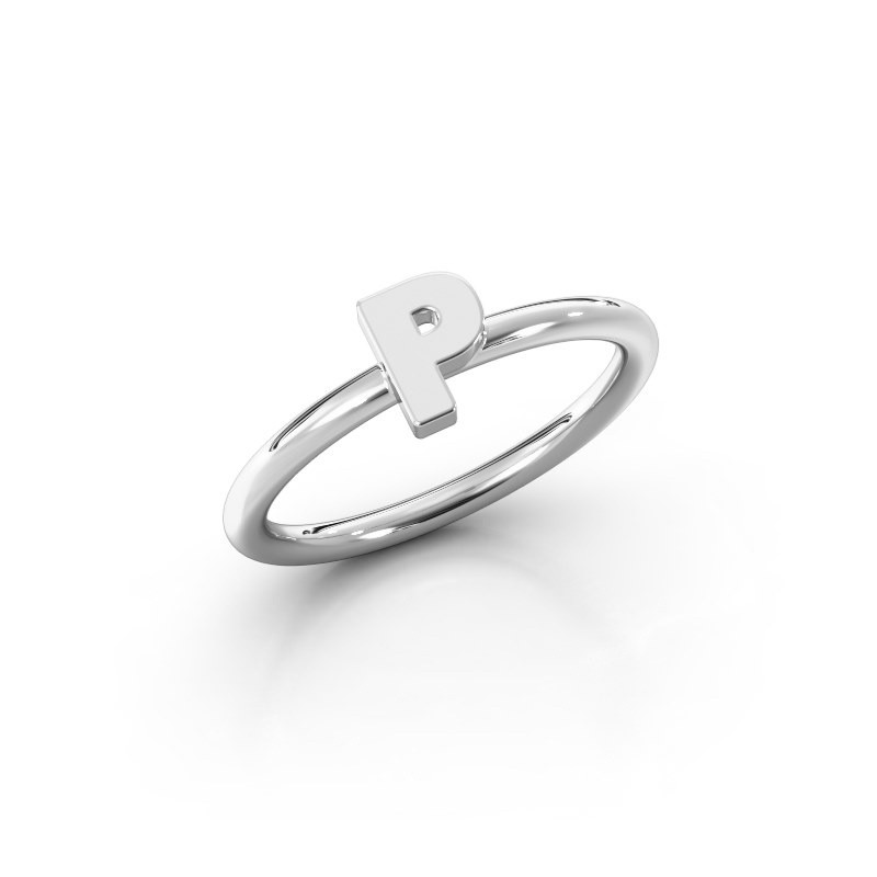 Ring Initial ring 080 925 zilver