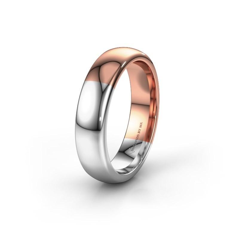Wedding ring WH1003M26C 585 rose gold ±0.24x0.09in