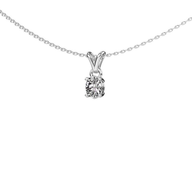 Ketting Lucy 1 950 platina diamant 0.35 crt