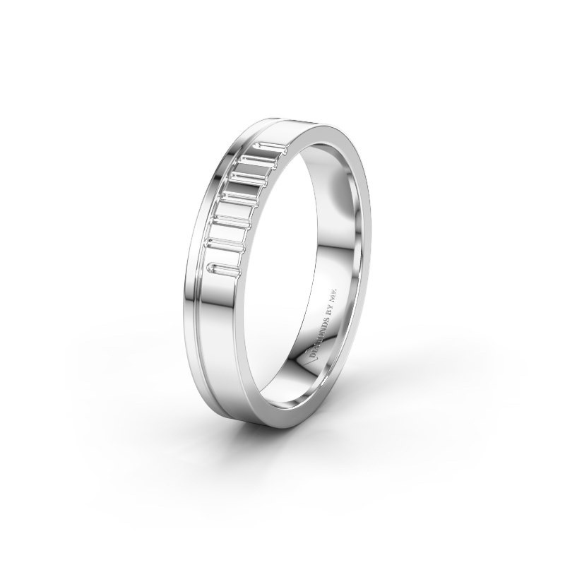 Wedding ring WH0332M14X 950 platinum ±4x1.5 mm