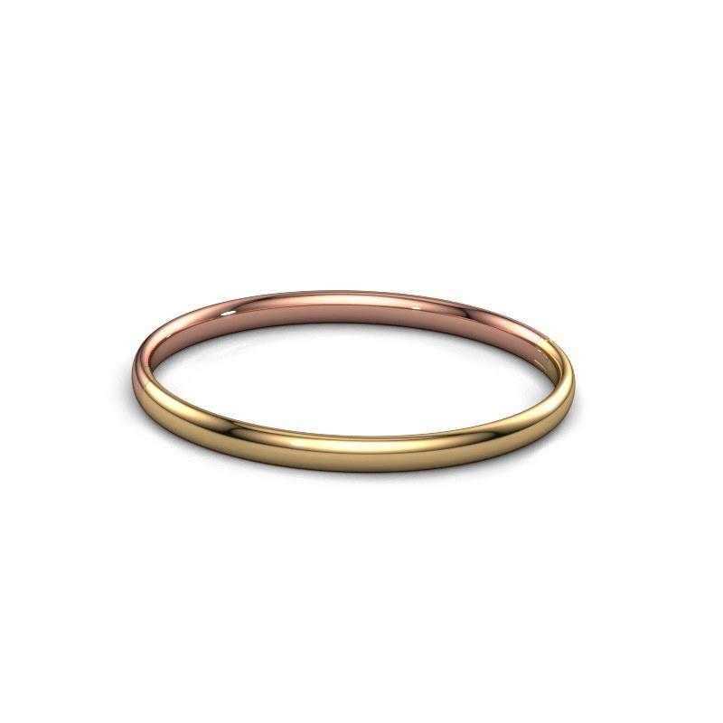 Slavenarmband Jane 5mm 585 rosé goud
