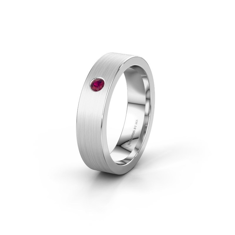 Alliance WH0101L15BM 950 platine rhodolite ±5x1.5 mm