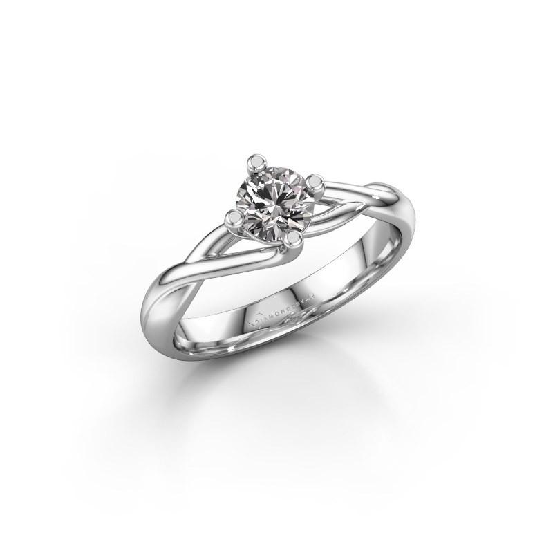 Ring Paulien 925 zilver diamant 0.50 crt