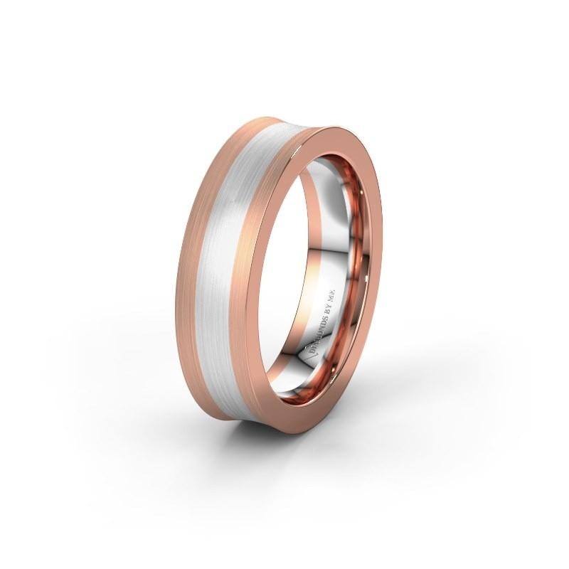 Trouwring WH2238M2 585 rosé goud ±5x2 mm