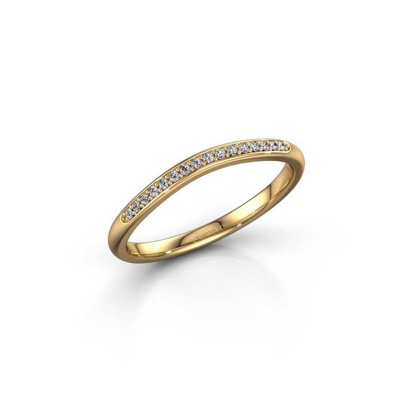 Ring SR20A2H 375 gold lab-grown diamond 0.08 crt