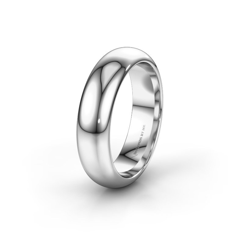Wedding ring WH6132M36C 950 platinum ±6x2.2 mm
