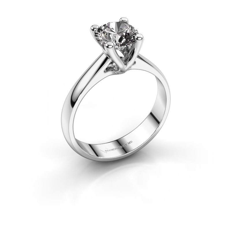 Verlobungsring Janna 1 585 Weißgold Diamant 1.00 crt