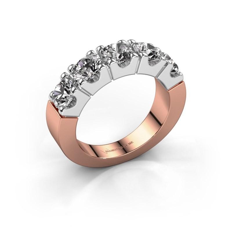 Verlobungsring Dana 5 585 Roségold Diamant 2.00 crt