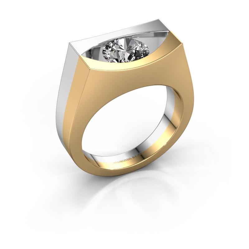 Bague Milou 585 or jaune diamant 1.00 crt