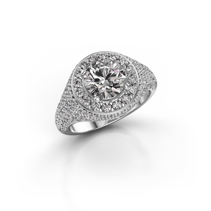 Ring Dayle 925 zilver diamant 2.463 crt