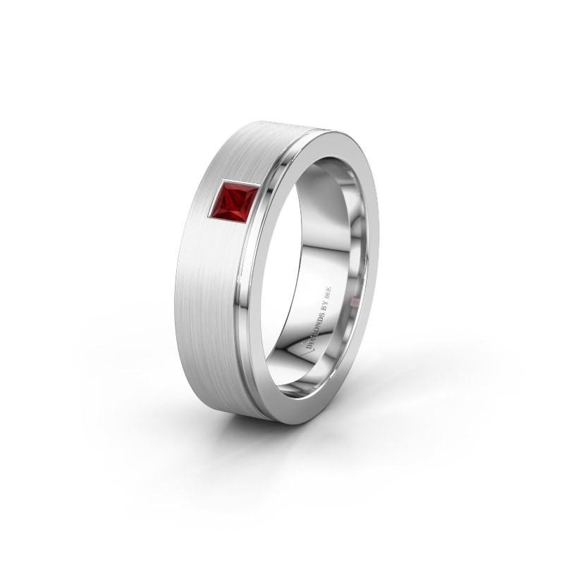 Ehering WH0550L16CMP 925 Silber Rubin ±6x2.2 mm