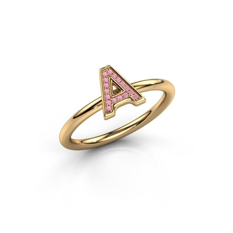 Ring Initial ring 070 585 goud