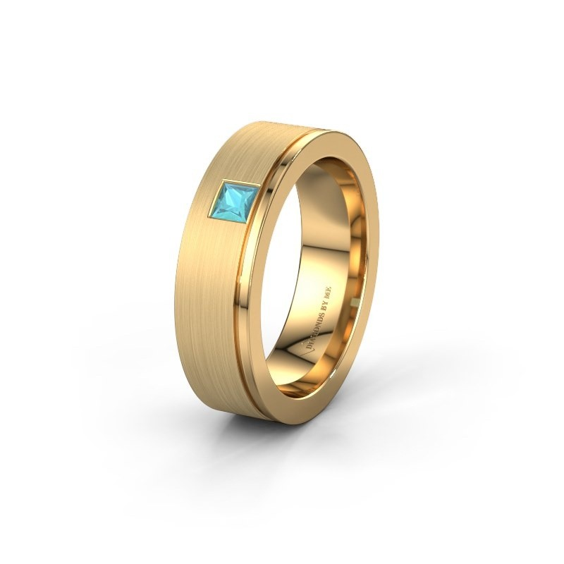 Ehering WH0550L16CMP 585 Gold Blau Topas ±6x2.2 mm