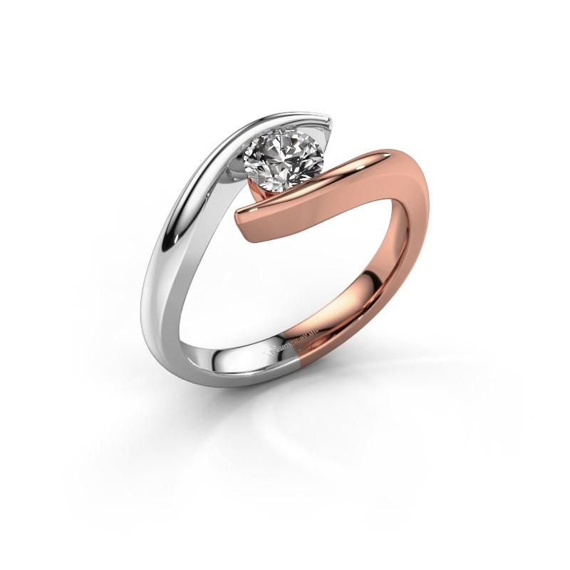Engagement ring Alaina 585 rose gold diamond 0.50 crt