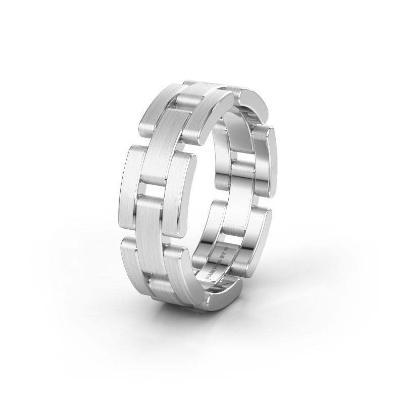 zilveren trouwring