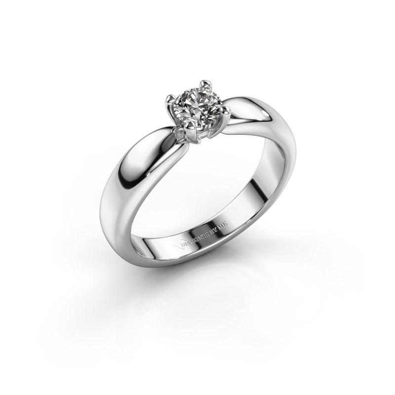 Promise ring Katrijn 925 zilver diamant 0.40 crt