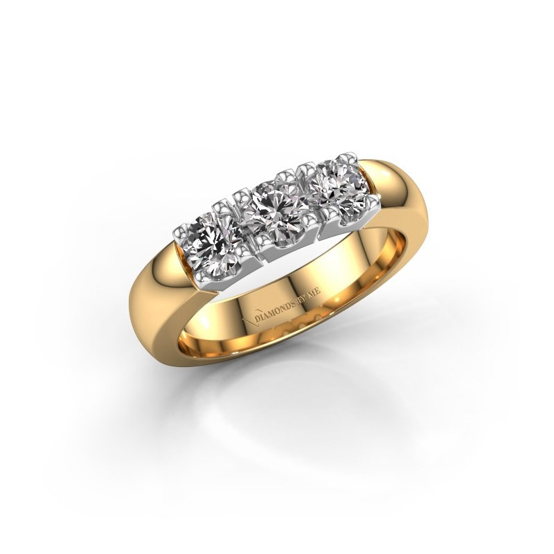 Engagement ring Rianne 3 585 gold diamond 0.900 crt