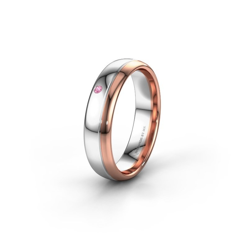 Ehering WH0301L35AP 585 Weißgold Pink Saphir ±5x1.7 mm