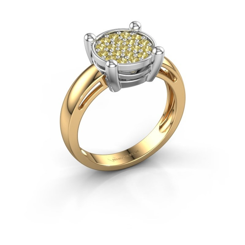 Ring Dina 585 Gold Gelb Saphir 1.6 mm