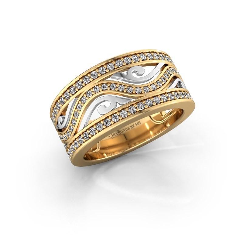 Ring Louvenia 585 gold zirconia 1.2 mm