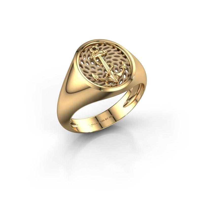 Heren ring Roger 585 goud