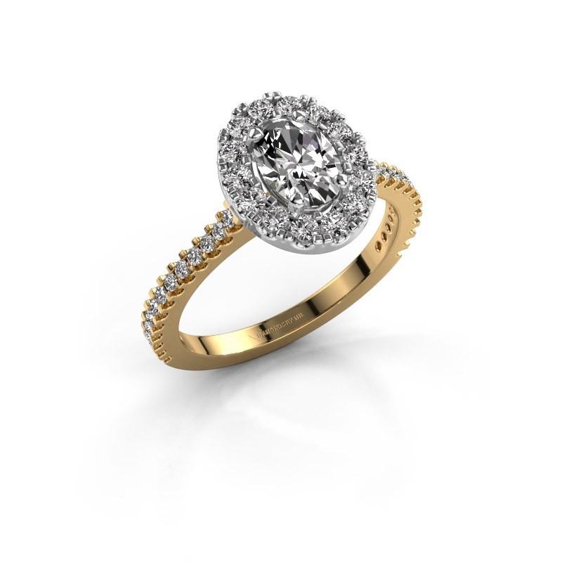 Verlobungsring Jorinda 2 585 Gold Diamant 1.275 crt