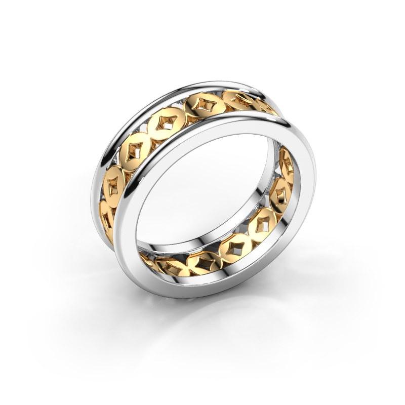 Ring Aya 585 white gold