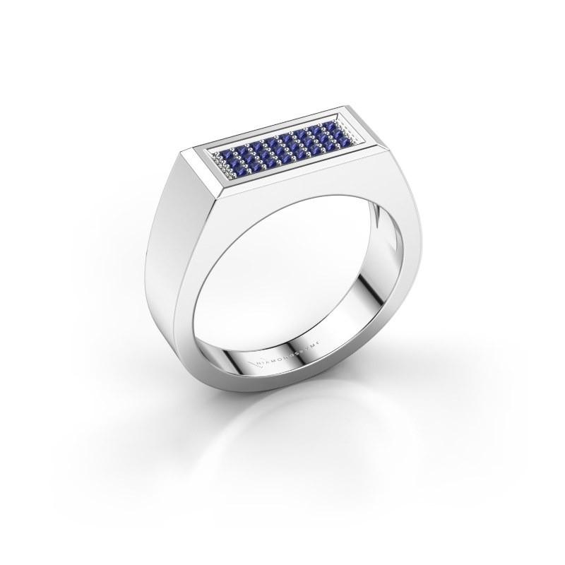Herrenring Dree 6 925 Silber Saphir 1.1 mm