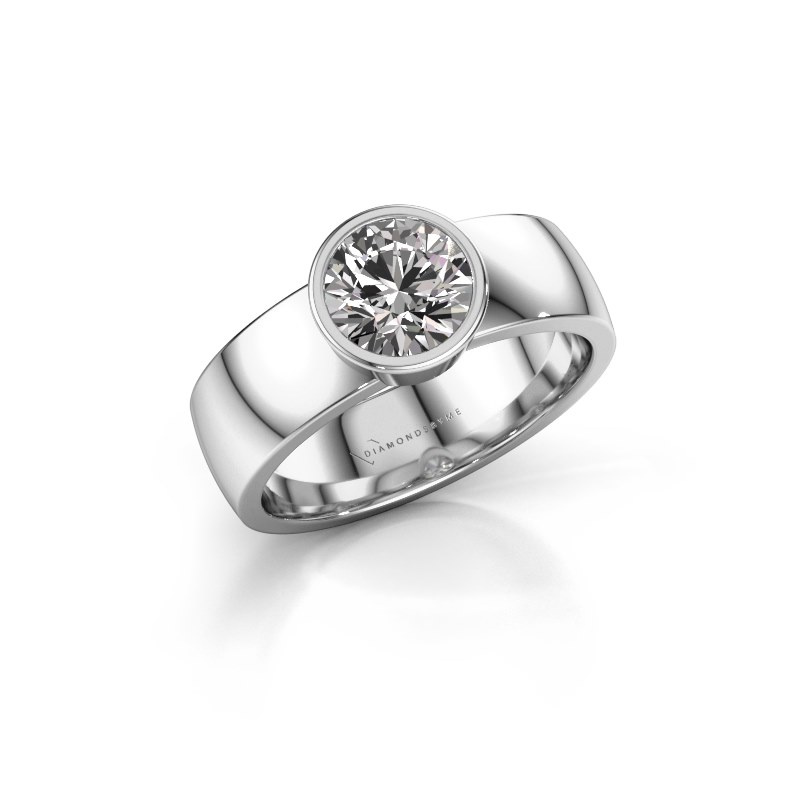 Ring Ise 1 925 silver diamond 1.00 crt