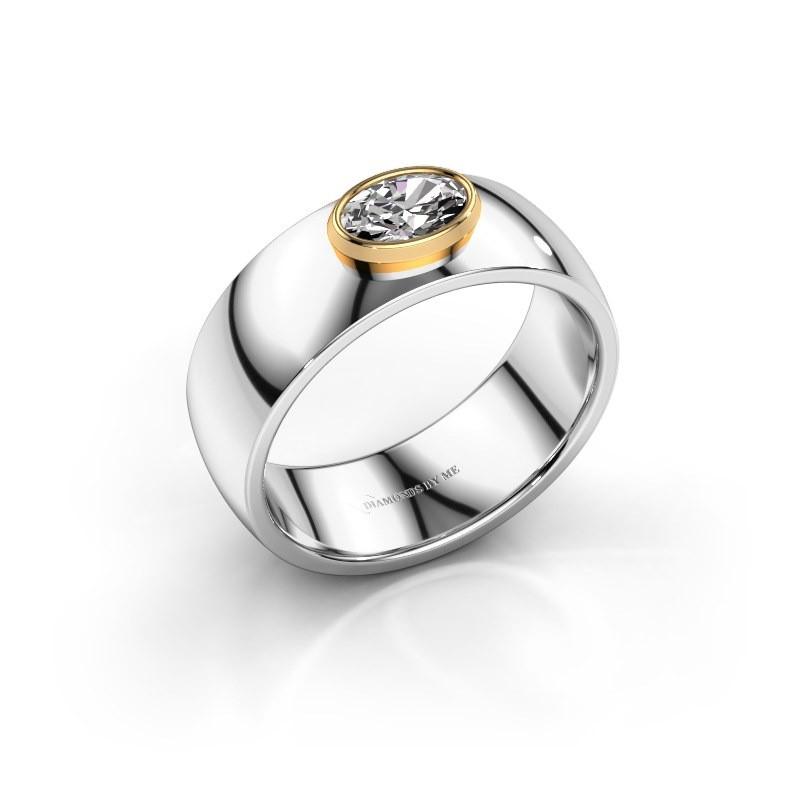 Ring Wilma 1 585 Weißgold Diamant 0.50 crt