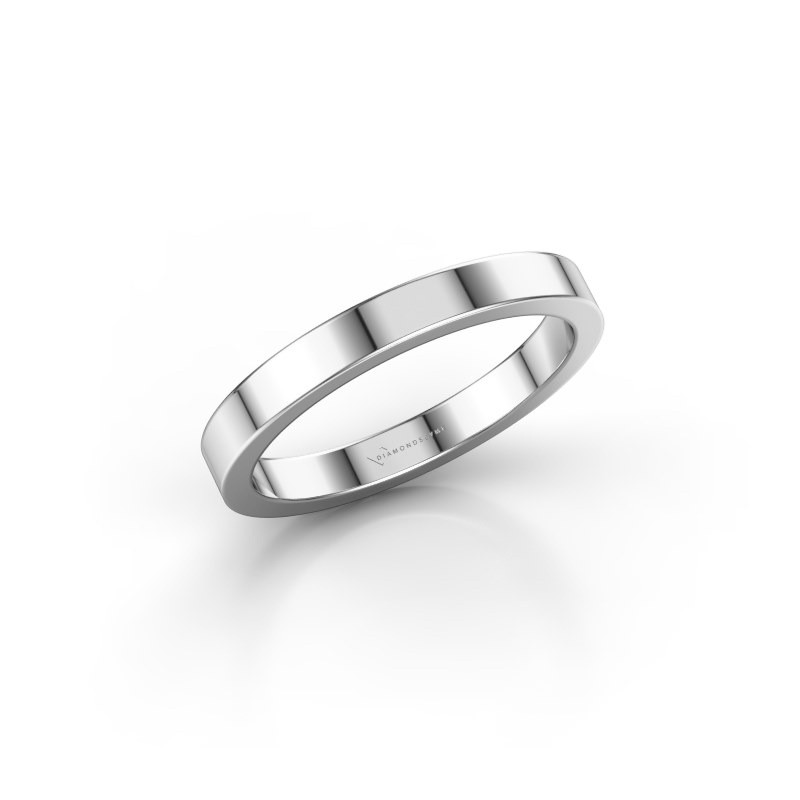 Stackable ring SRH0030B304 950 platinum