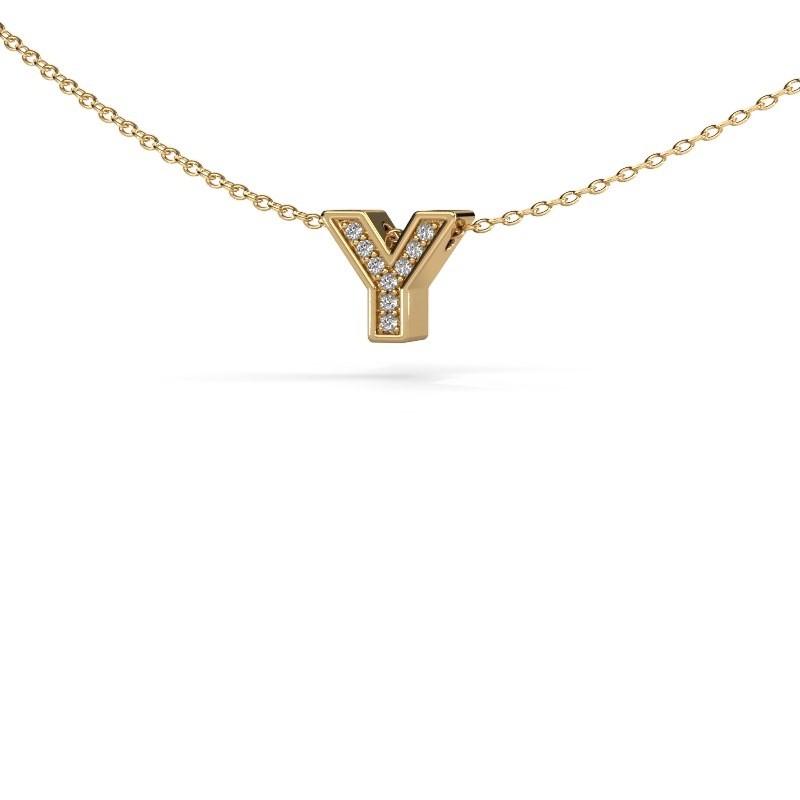 Buchstabenanhänger Initial 140 585 Gold