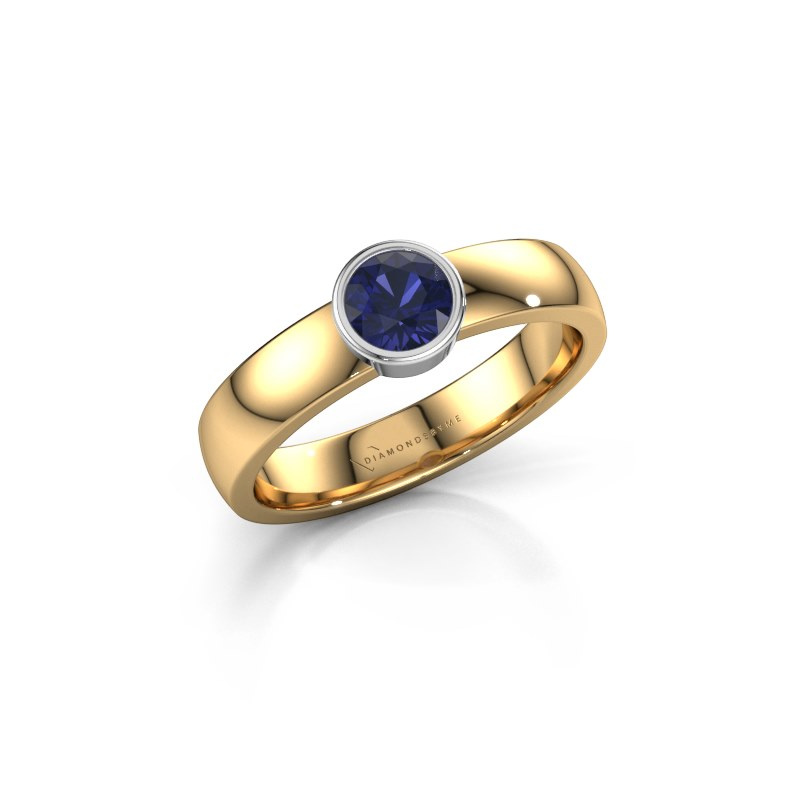 Ring Ise 1 585 gold sapphire 4.7 mm