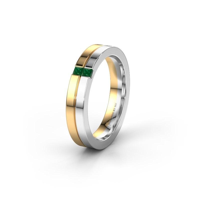 Ehering WH0225L14B 585 Gold Smaragd ±4x2 mm