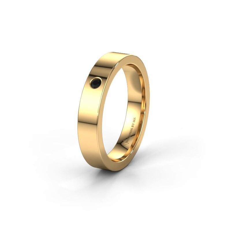 Alliance WH0101L14BP 375 or jaune diamant noir ±4x1.5 mm