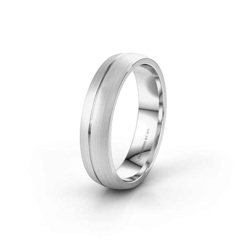 Wedding ring WH0166M25A 925 silver ±5x1.7 mm