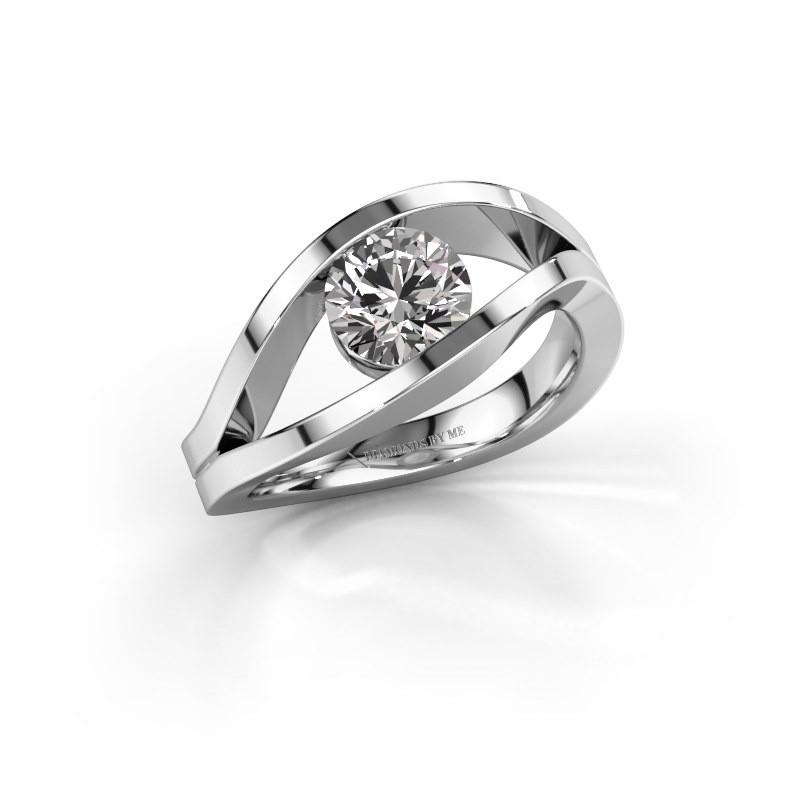 Engagement ring Sigrid 1 950 platinum diamond 1.00 crt