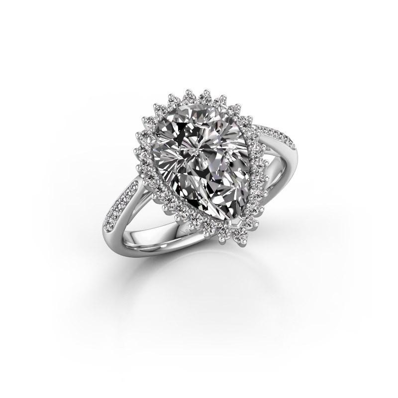 Verlovingsring Chere 2 925 zilver diamant 3.00 crt
