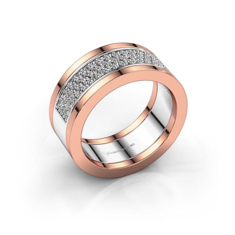 Ring Marita 5 585 white gold diamond 1.06 crt